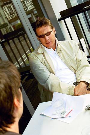 Interviewing Skaife, 2005