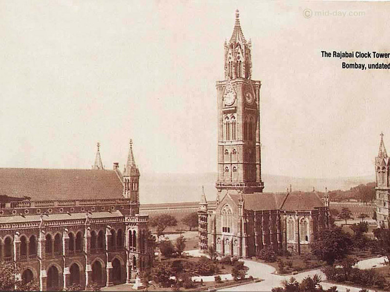 Rajabai Tower, Mumbai. The University of Mumbai's most famous landmark. Standing 260 ft tall and endowed with amazing sculptures, it was financed by Cotton entrepreneur and banker Premchand Roychand in the late 19th century.