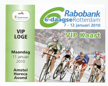 Zesdaagse Rotterdam 11-1-2010
