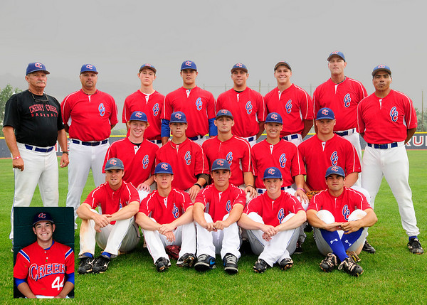 Cherry Creek Connie Mack Team picture