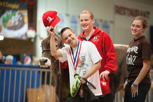 NC State Fair Dairy show