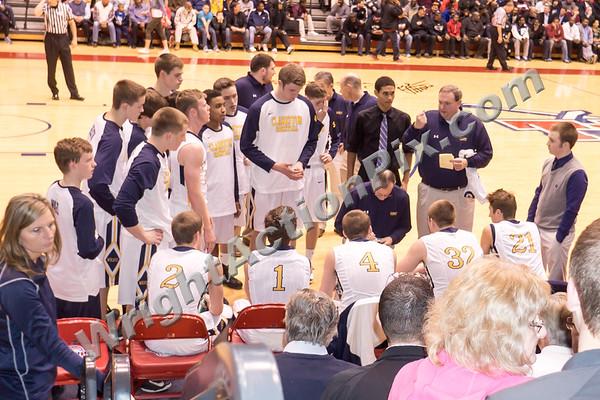2015 03 24 Clarkston Varsity Basketball MHSAA Quarter Final vs U of D Jesuits