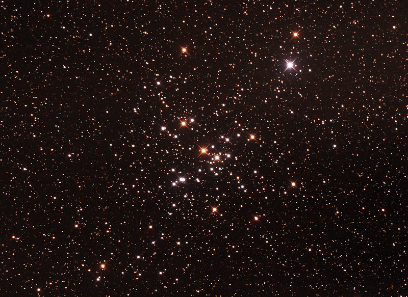 Messier 41 - NGC2287 - Open Cluster in Canis Major - 3/2/2017 (Processed cropped stack)