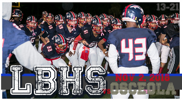LBHS V FB vs Osceola - Nov 2, 2018 HOME