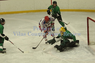 Northland Pines Boys Hockey vs. Rhinelander Hodags