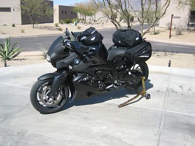 K1200R touring setup