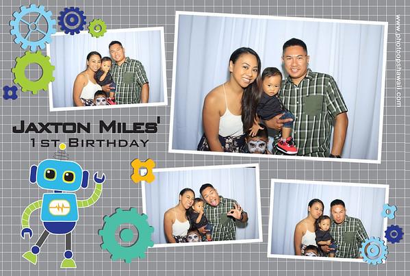 Jaxton Miles' 1st Birthday