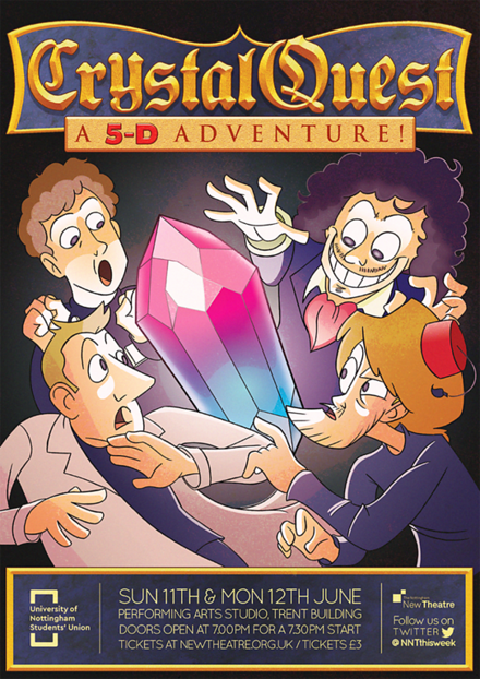 Crystal Quest: A 5D Adventure poster