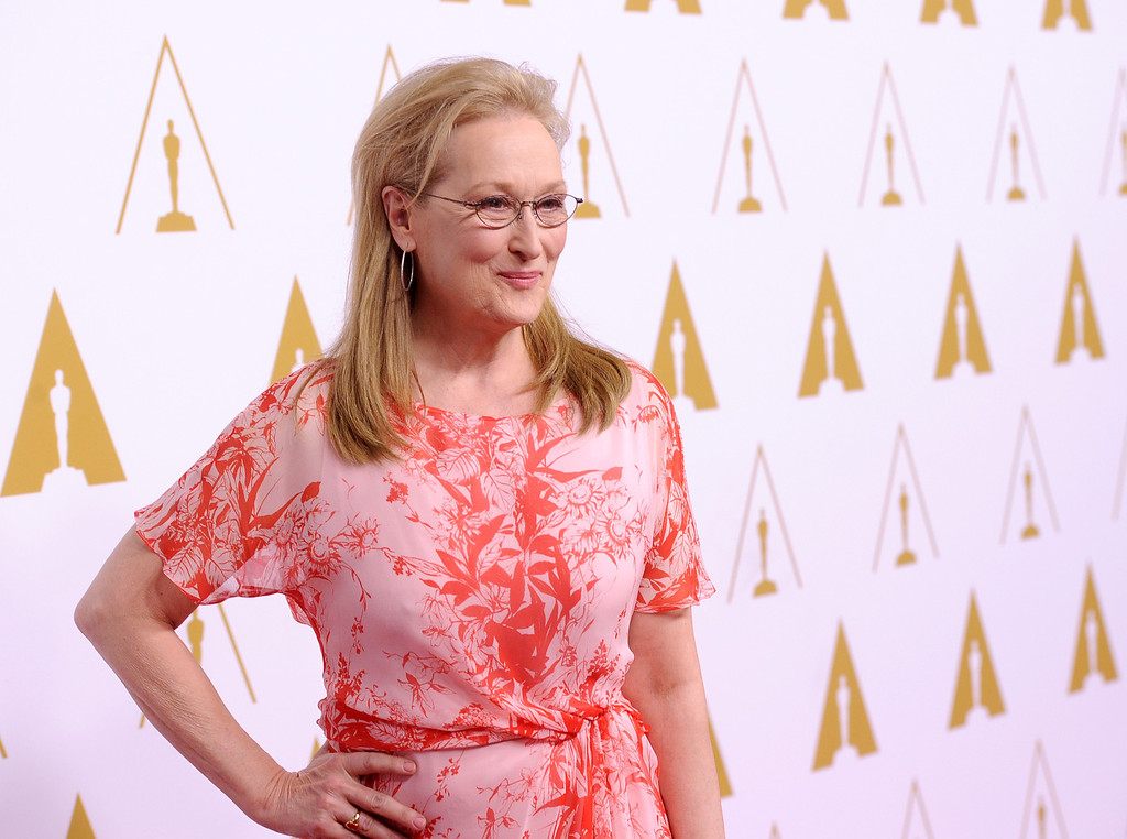 ". 2014 Academy Award Nominee for Best Actress in a Leading Role: Meryl Streep in ""August: Osage County.\"" (Photo by Kevin Winter/Getty Images)"