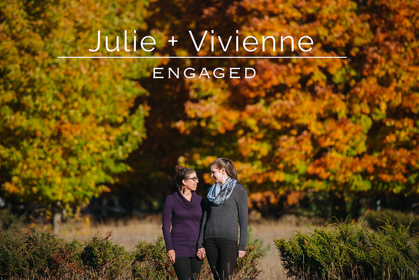 Julie + Vivienne