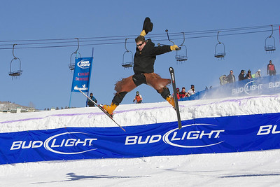 2007 Colorado Winter Vacation at Steamboat Ski Resort including Annual Bud Light Cowboy Downhill