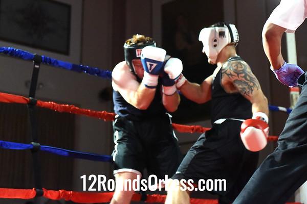 Bout 3 Isaiah Brewer(Red Gloves), Wrestling Factory, North Ridgeville -vs- Scott Stinson(Blue Gloves), Bryan Caudill, Pittsburgh, PA, Heavy, Sub-Novice