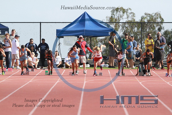 Girls State 100m Dash 5-10-14