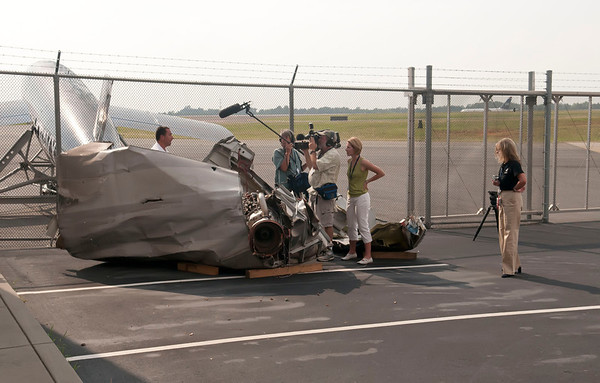 Miracle on the Hudson Flight 1549 Reception @ Carolinas Aviation Museum 6-11-11 by Jon Strayhorn