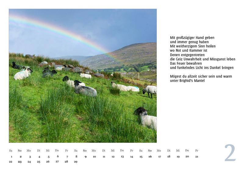 """Foto-Lyrik-Kalender 2020 """"An der Küste von Grünland"""" Februar"""