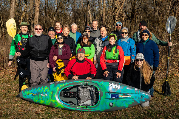 New Year's Day 2020 with Cincypaddlers