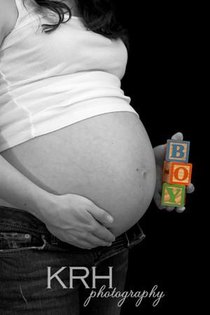 Maternity Self-Portraits