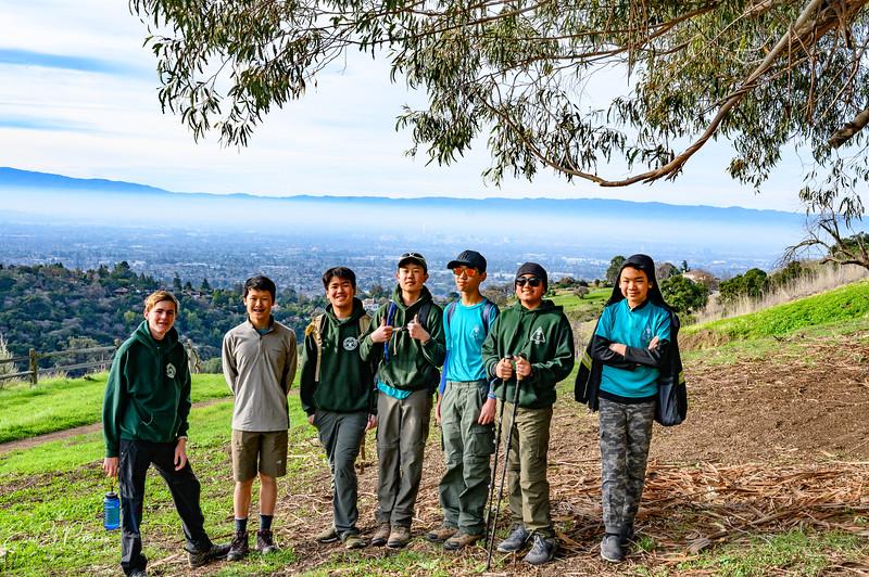 Alum Rock hike with Troop 170