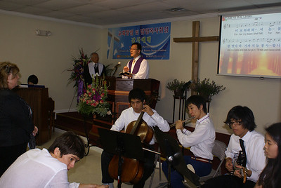 2010 창립예배 및 임경묵목사 취임식