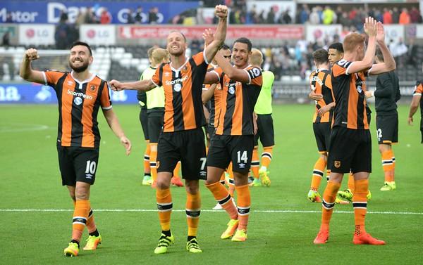 2016 Premier League Football Swansea v Hull City Aug 20th