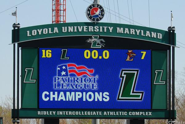 Patriot League Champions 04.27.14