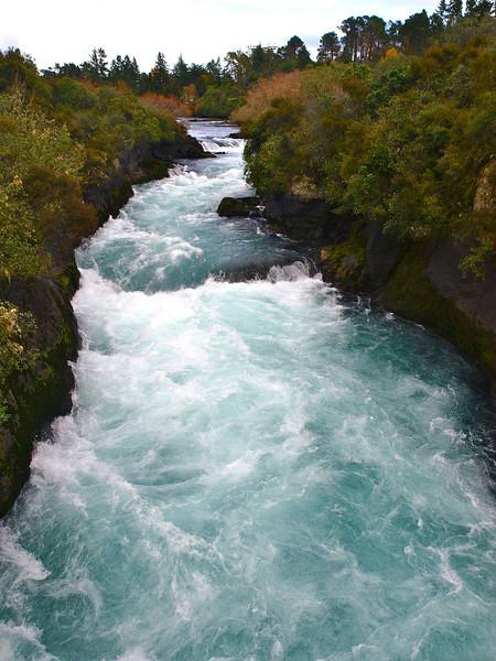Huka Falls, Taupo, NZ
