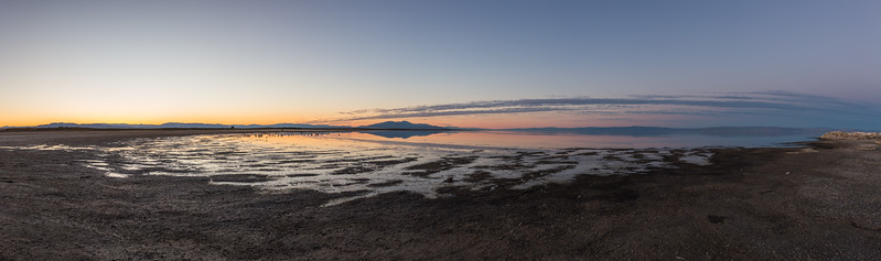 Twilight / Golden Hour on the Southern Shore of the Salton Sea