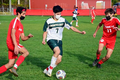 HS Sports - Grosse Ile vs. Detroit Cristo Rey boys' soccer