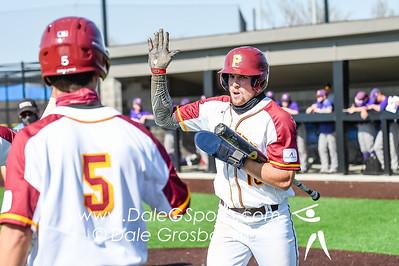 Park Baseball v Missouri Valley 2021 Game Action