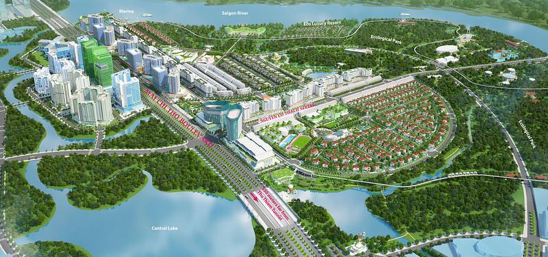 Sala City, Thu Thiem New Urban Area