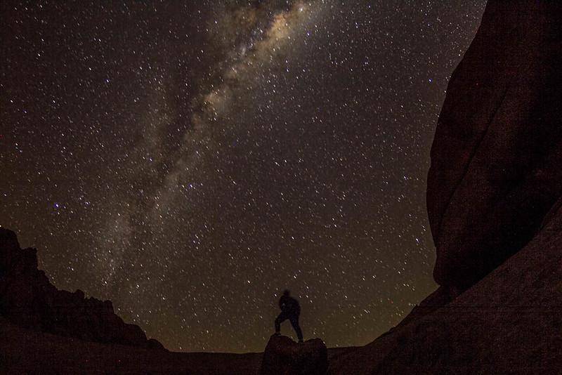 Stargazing in Africa - best headlamp