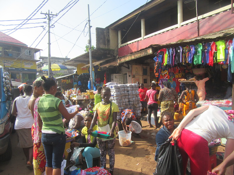 023_Freetown. Clin Town. Fourah Bay Road.JPG