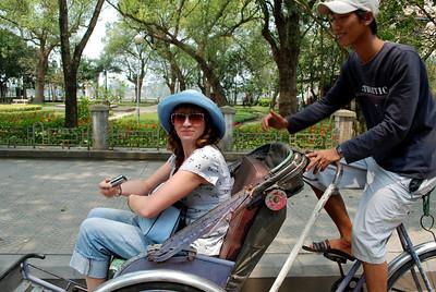 Cyclo trip in Hue - March 2008