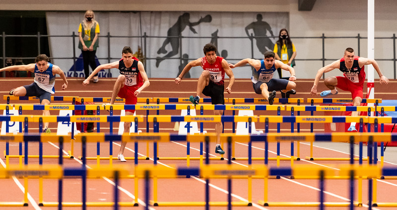 60m Hurdles - Men