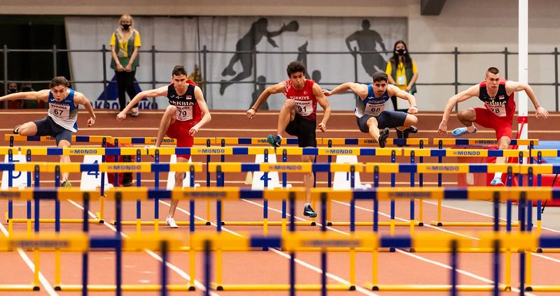 60m Hurdles - Men