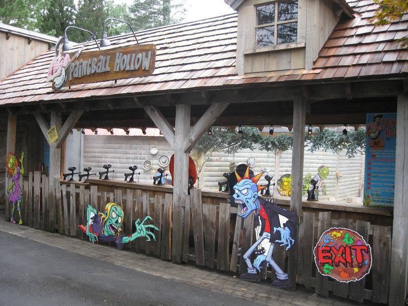 Paintball Hollow had a zombie makeover.