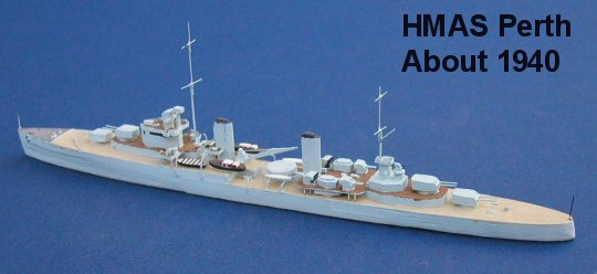 Great Britain WW2 Cruisers