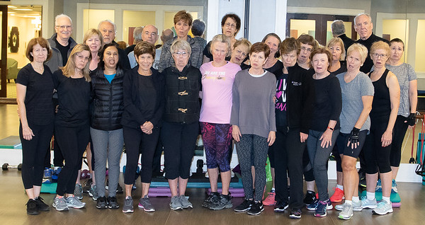 Jennifer Wrigley's Last Exercise Class