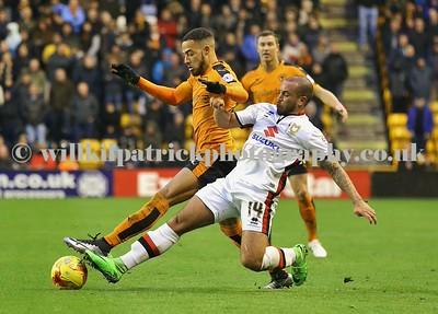 Wolverhampton Wanderers 0 v 0 Milton Keynes Dons