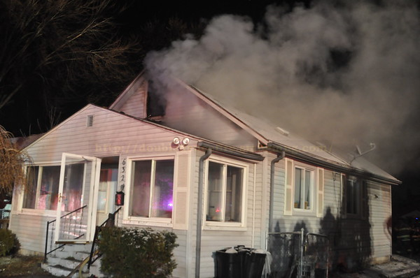 Dearborn Heights -  Beech Daly -  House fire