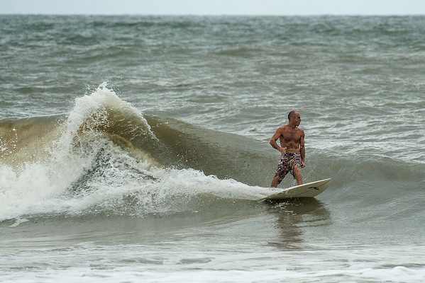 """Surfing Folly Beach October 7, 2013 at """"The Washout"""""""