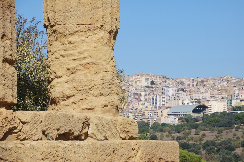 Agrigento (from the Valley of the Temples)