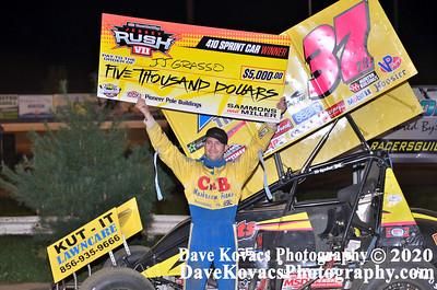 NJ RUSH VII - New Egypt Speedway 8/23/17