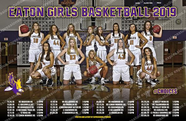 Girls Basketball Poster 2019