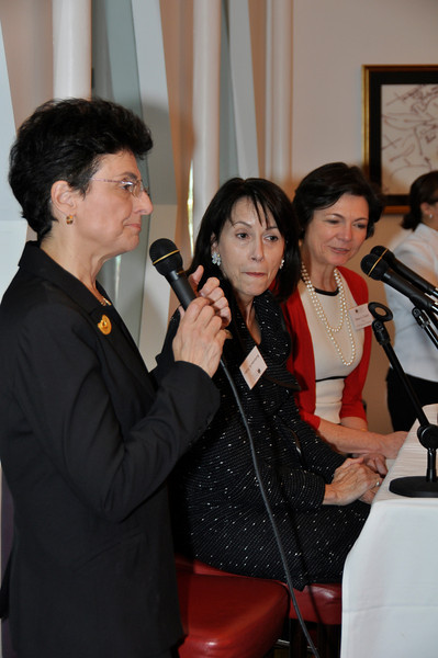 Jean Shafiroff hosts a luncheon for The Women's Foundation, Nov 8, 2011