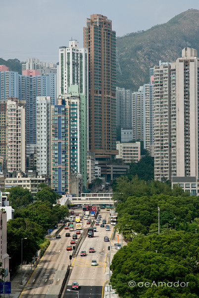 aeamador©-HK08_DSC0007      Hong Kong. Kowloon.San Po Kong. Lots of concrete and tall apartment buildings abound.