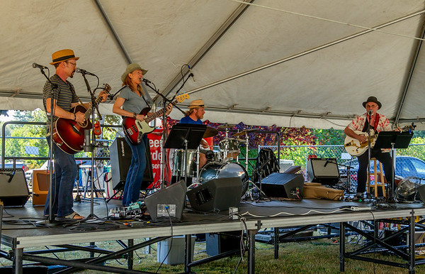 The Van Redeker Band at the Beer Garden Festival Friday 2018