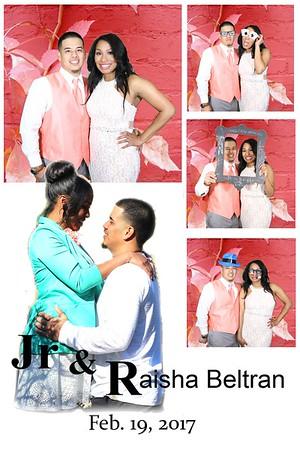 Jr and Raisha Wedding