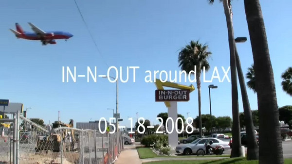 IN-N-OUT Around LAX
