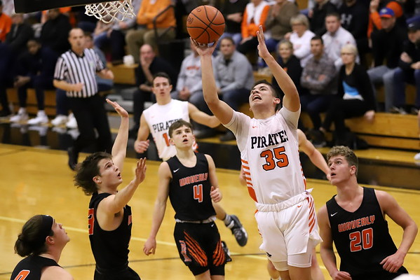 08V Boys Basketball:  Waverly at Wheelersburg 2020